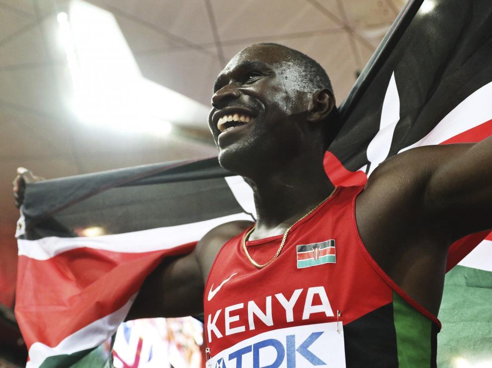 Rudisha recuperó el título mundial de 800 cuatro años después.