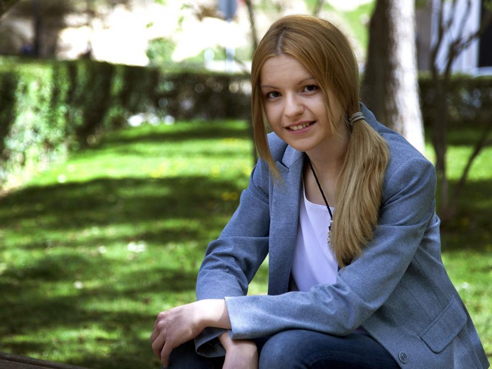 La presidenta de VOX en Cuenca, Inmaculada Sequí, en una foto de archivo