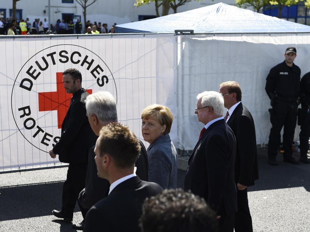 Visita de Merkel este lunes al centro atacado