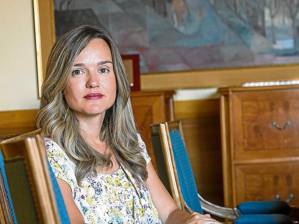 Pilar Alegría, nueva consejera de Innovación, Investigación y Universidad.