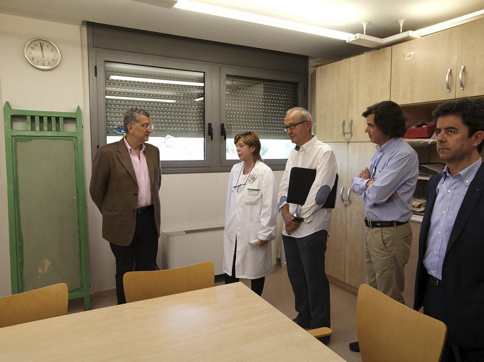 Celaya vistia el hospital psiquiatrico de medias estancias Santo Cristo de los Milagros de Huesca.