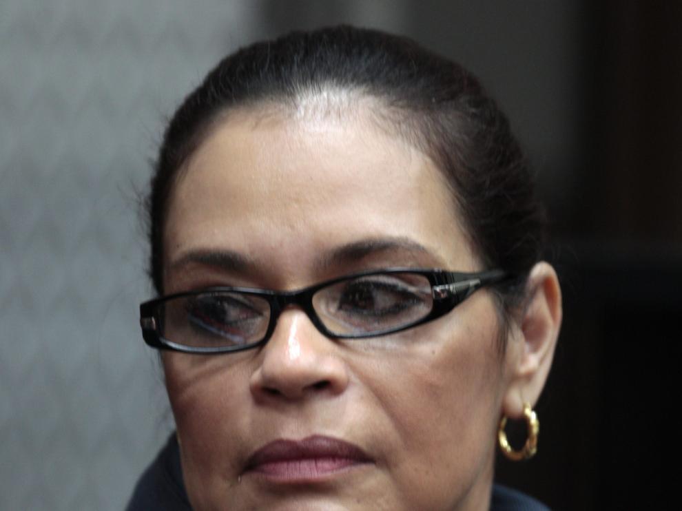 Roxana Baldetti, expresidenta de Guatemala.