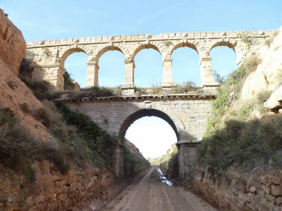 El puente de la Torica, en la Vía Verde de la Val de Zafán.