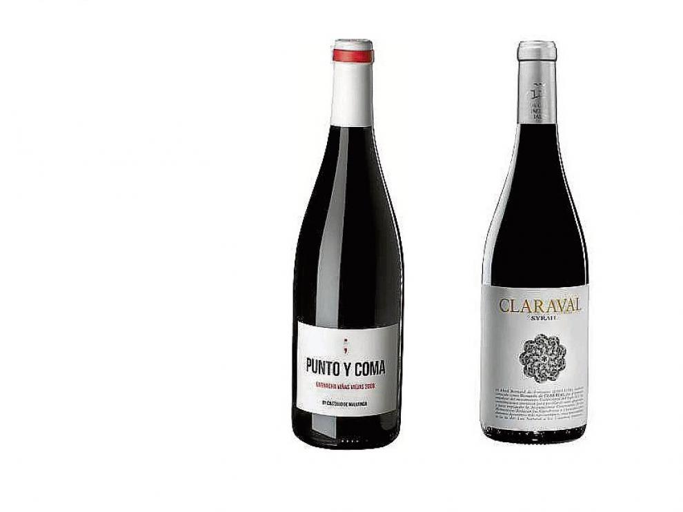 Las etiquetas aragonesas Punto y Coma 2009 y Claraval Syrah 2014 continúan cosechando magníficos resultados en los mercados internacionales.