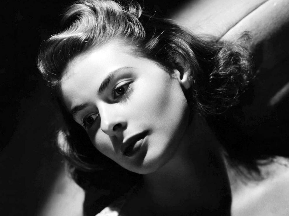 Ingrid Bergman protagonista de títulos como 'Casablanca' .