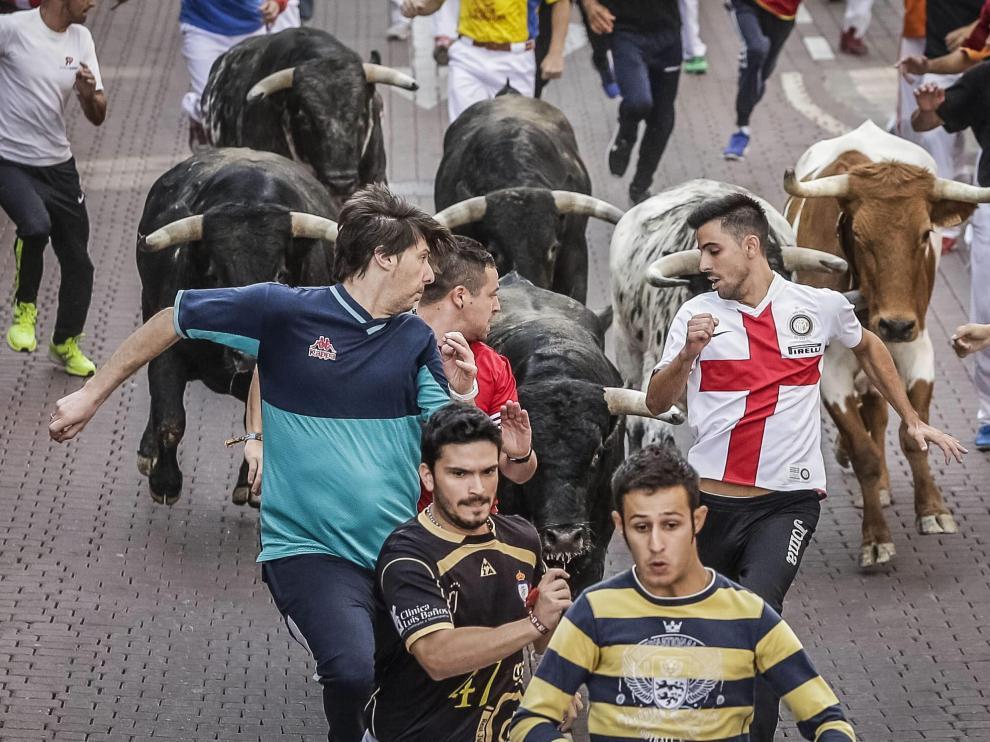 El tercer encierro de las fiestas de San Sebastián de los Reyes se ha saldado con 9 heridos.