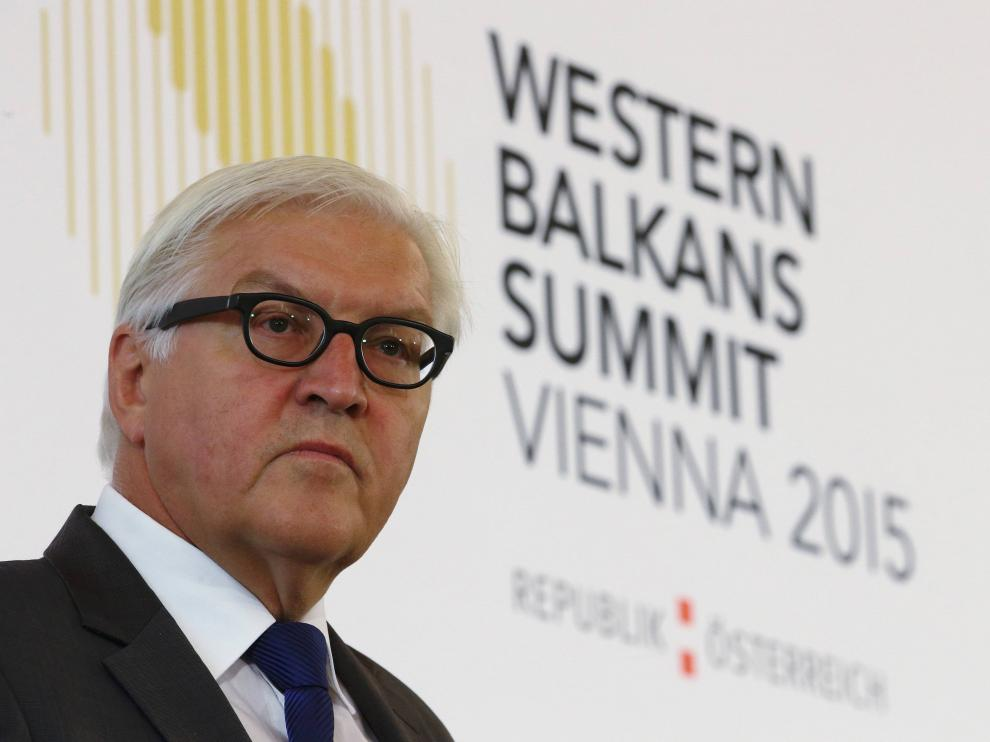 El ministro de Exteriores de Alemania, Frank-Walter Steinmeier