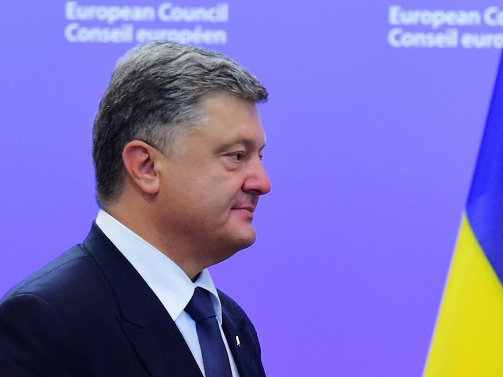 El jefe de Estado ucraniano, Petró Poroshenko.