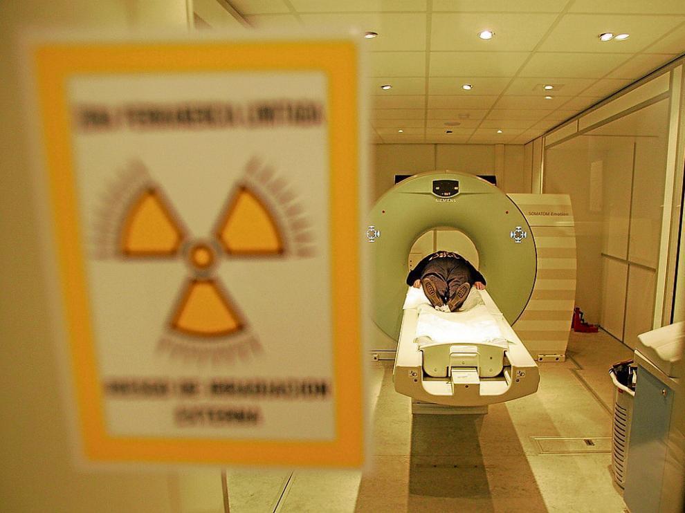 El servicio de Radiología del hospital Obispo Polanco –en la foto– no cuenta con radioterapia.