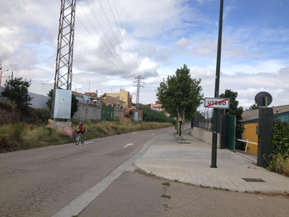 Vecinos y ciclistas reclaman un carril bici entre Utebo y Casetas