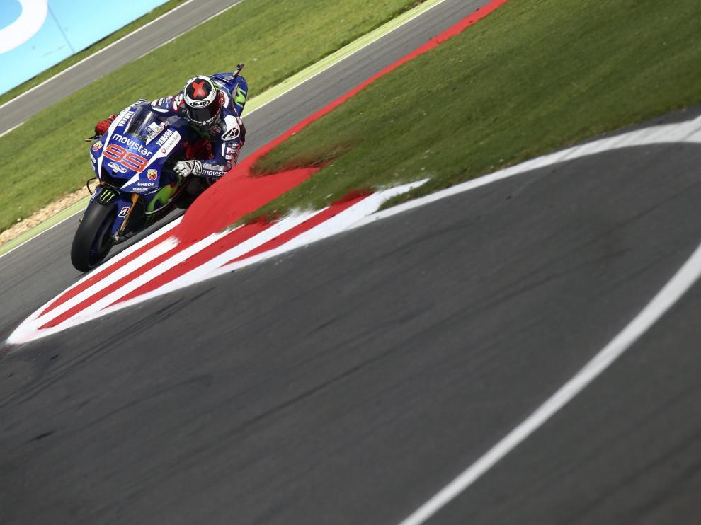 El piloto español de MotoGP, Jorge Lorenzo