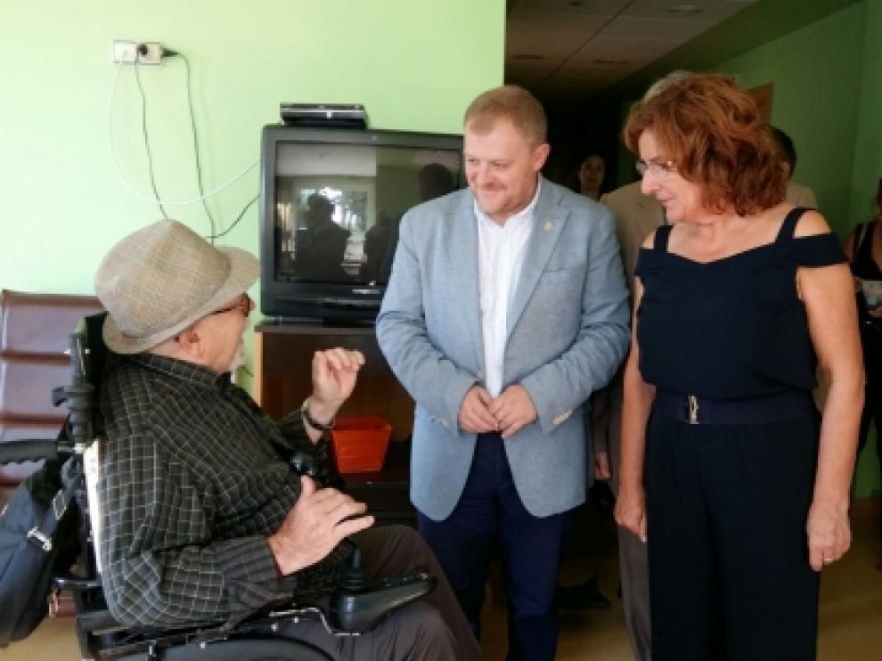 Broto ha visitado las residencias de mayores de Borja