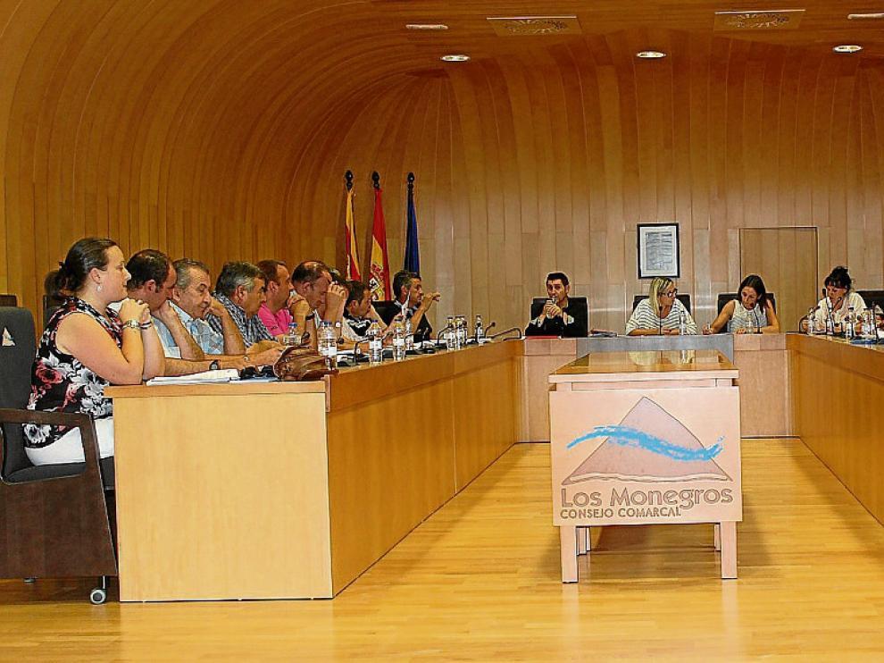 La sesión plenaria, que tuvo lugar en Sariñena, fue el estreno de Judith Budíos.