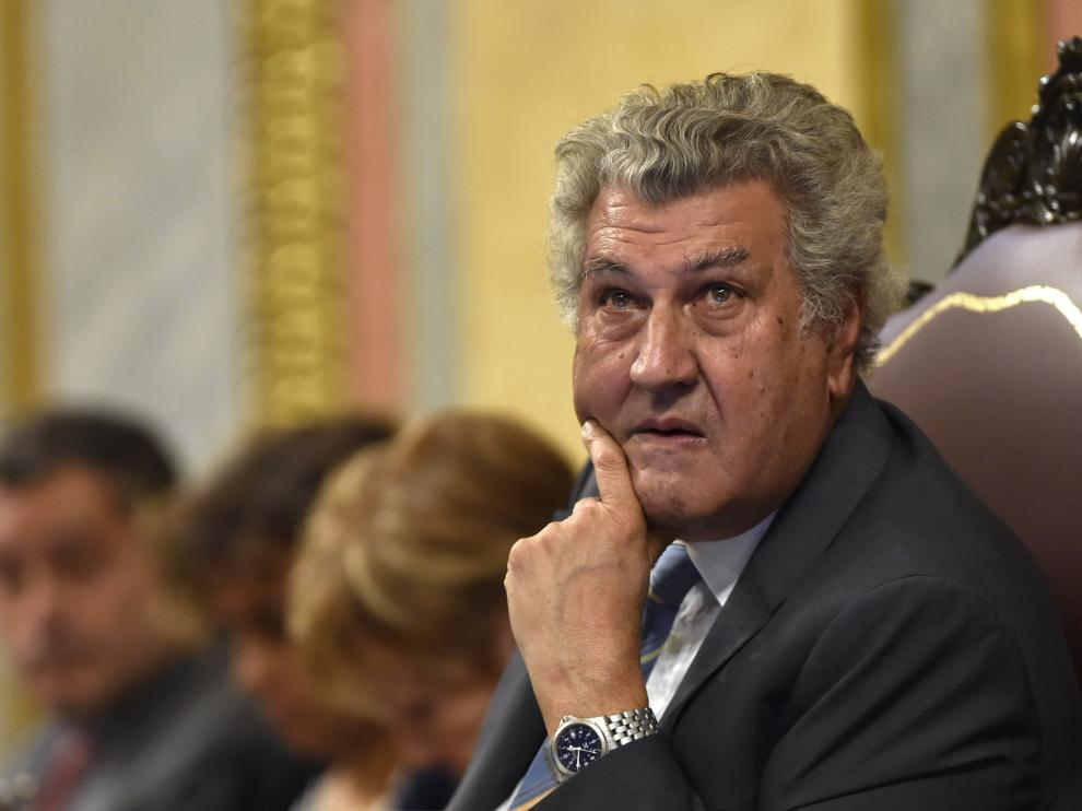 El presidente del Congreso de los Diputados, Jesús Posada.