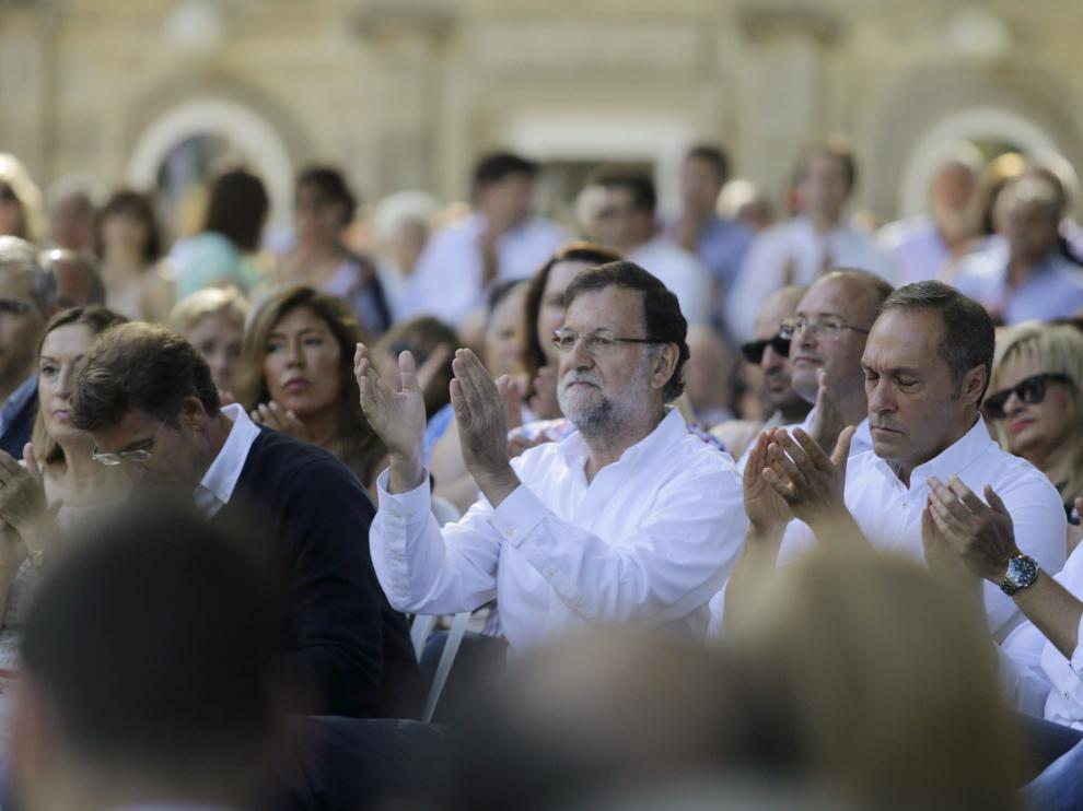 Mariano Rajoy, en Galicia