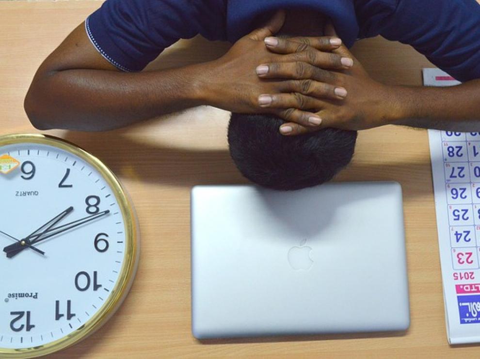 Las personas disgustadas con su trabajo suelen ser las más afectadas.