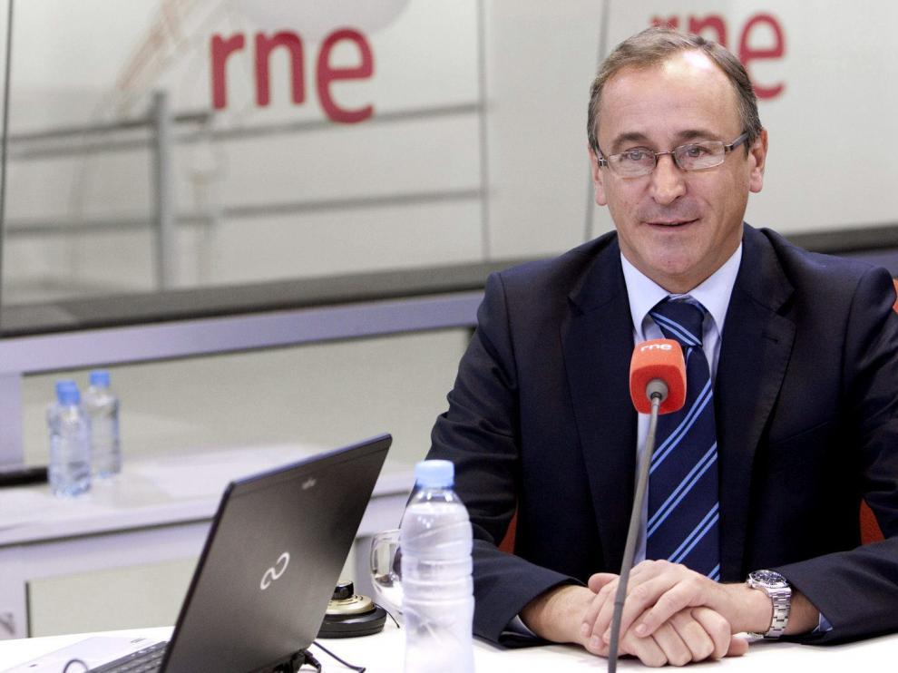 El ministro de Sanidad durante su intervención en RNE.