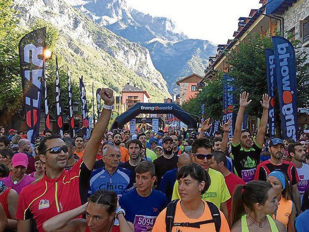 La Vuelta al Pico Cerler y al Molino de Cerler volvió a ofrecer una salida multitudinaria.