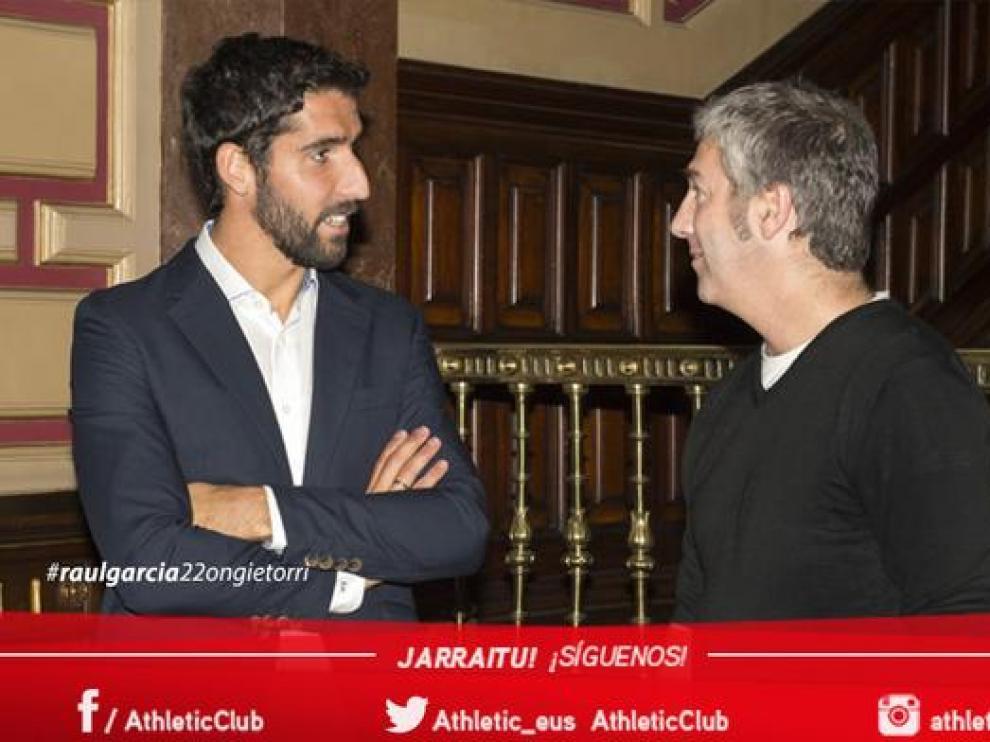 Raúl García ficha por el Athletic