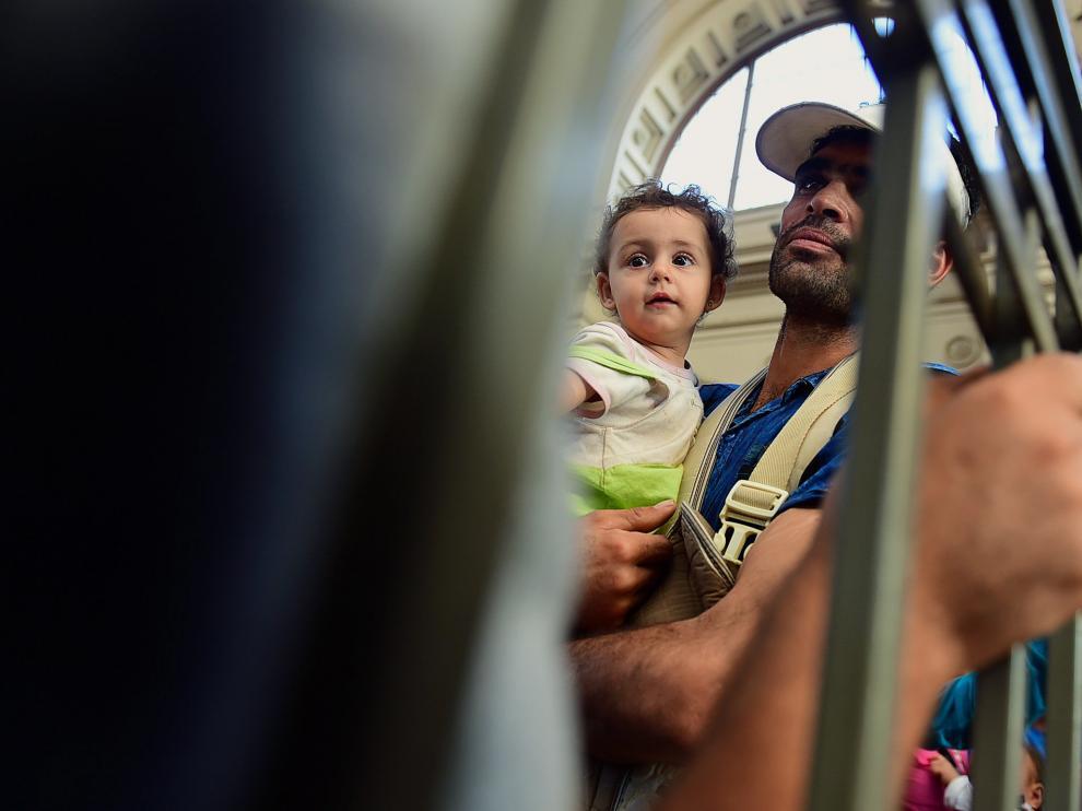 Los refugiados quieren llegar a Alemania