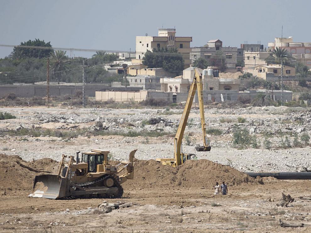 Imagen del sur de Gaza a 2 de septiembre del 2015.