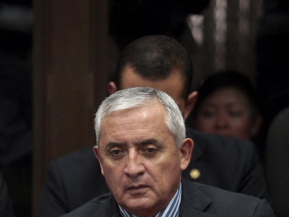 El expresidente de Guatemala, Otto Pérez Molina.