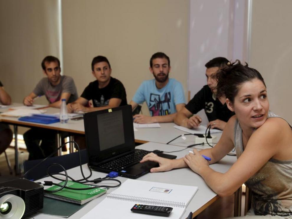Imagen de una sesión del grupo que integra la lanzadera.