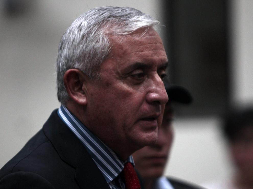 Otto Pérez Molina renunció este viernes a su cargo.
