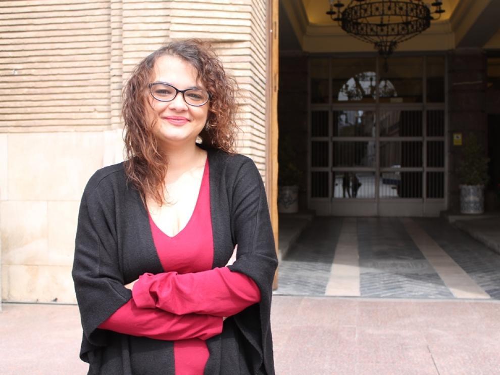 Delia Fondevila, impulsora de la Red aragonesa de ayuda al refugiado.