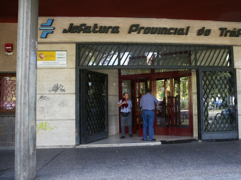 Jefatura de Tráfico de Zaragoza