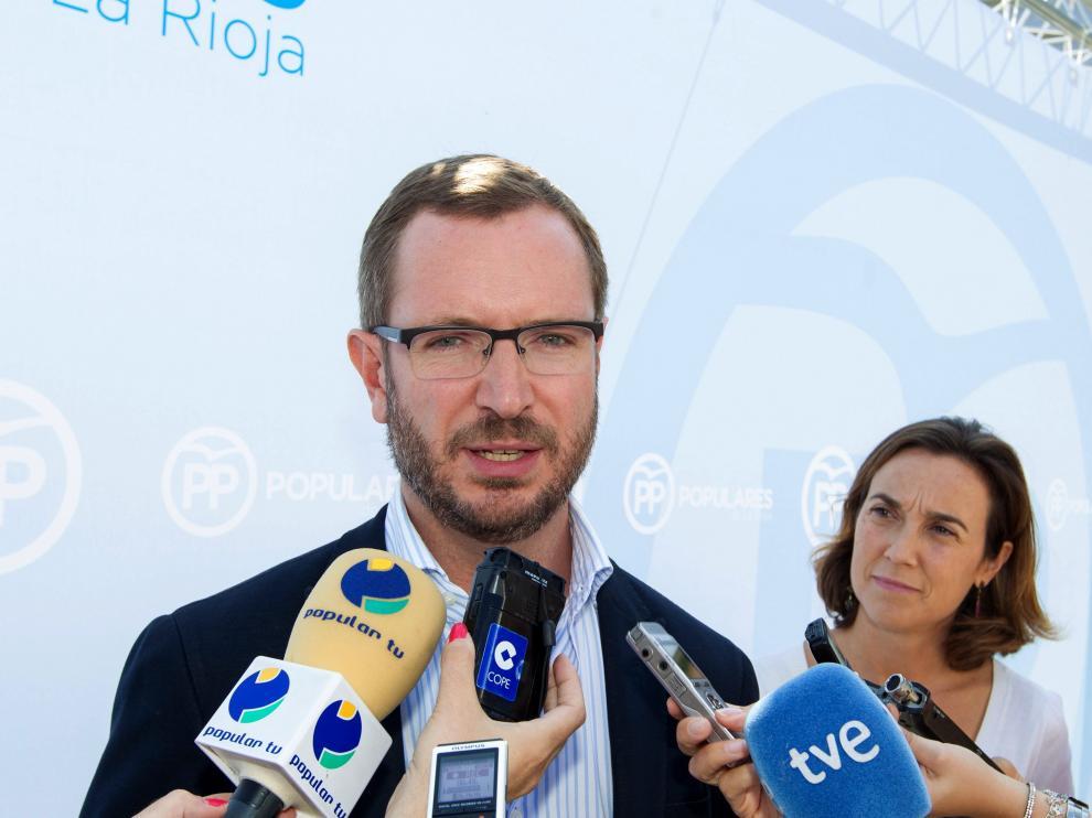 El vicesecretario de organización del PP, Javier Maroto, en imagen de archivo.