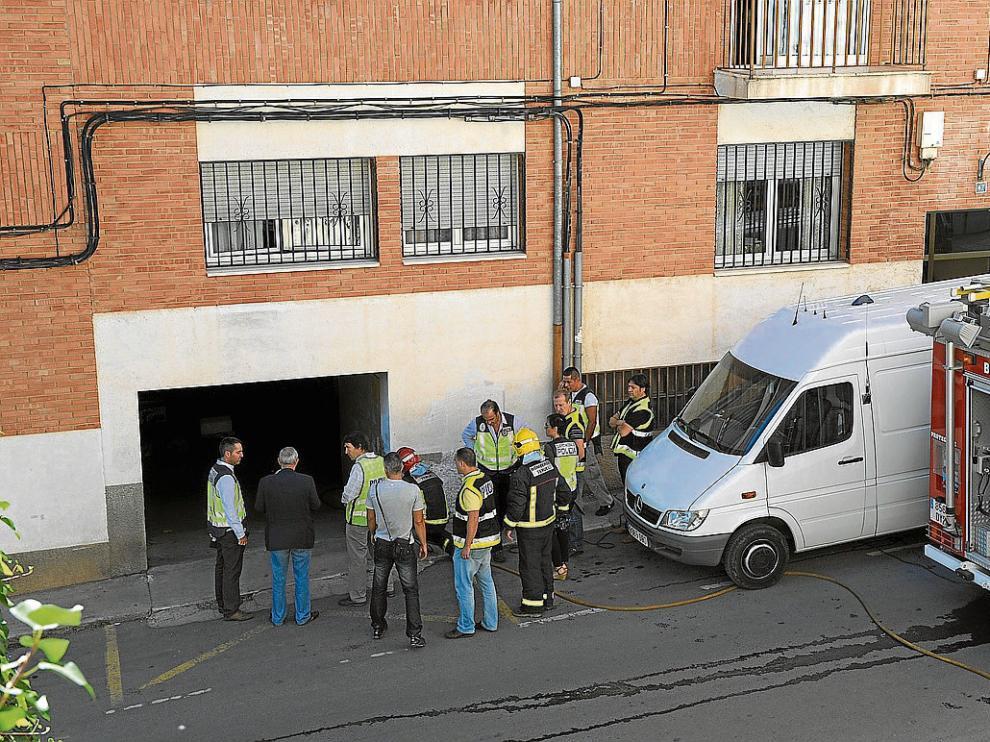 Alberto Villalba y su padre, Tomás, limpiaban una cochera de Teruel el 18 de septiembre de 2013 cuando una granada de la Guerra Civil explotó accidentalmente dejándolos malheridos.