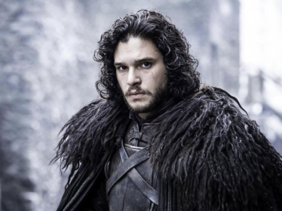 Kit Harington interpreta a Jon Nieve en Juego de Tronos