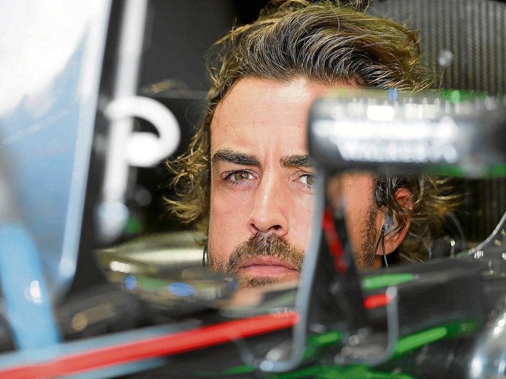 El español Fernando Alonso, piloto de McLaren, nunca ha ganado en el circuiod de Spa.