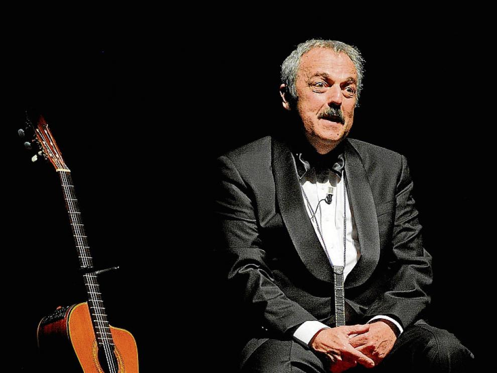 Rabinovich en 2013, en un concierto en Santiago de Chile.