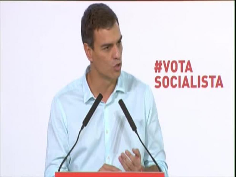 """Sánchez llama """"cobardes e hipócritas"""" a Juntos por el Sí"""