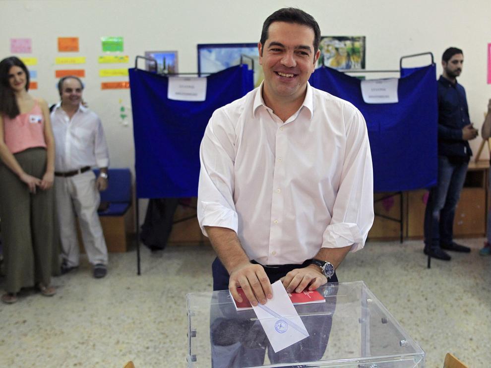 Tsipras se perfila como ganador.