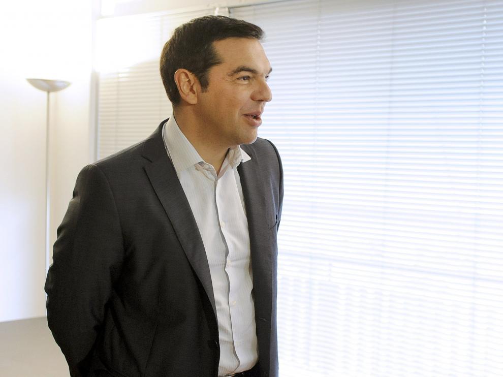 Alexis Tsipras, este lunes.