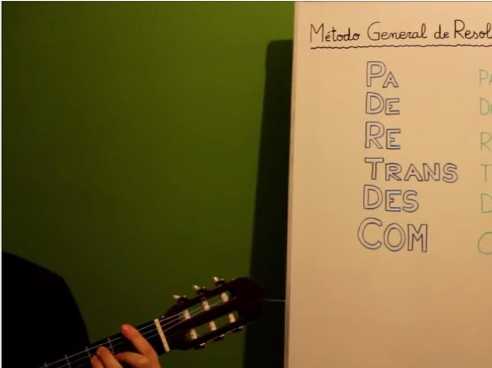Uno de los vídeos de Miguel Ángel Miguel en Youtube.