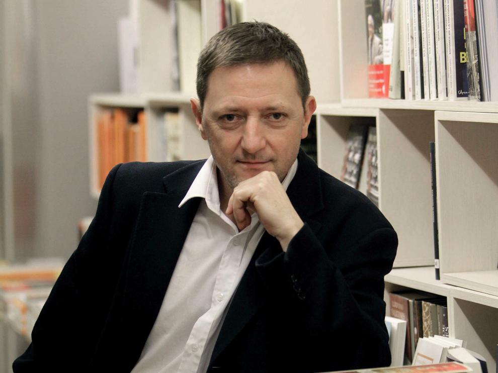 El escritor Ignacio Martínez de Pisón.