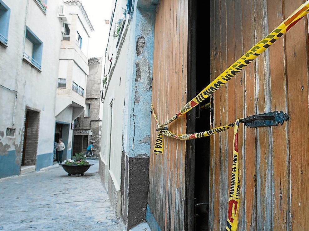 El incendio de una peña en Borja el pasado junio obligó a hospitalizar a tres menores.