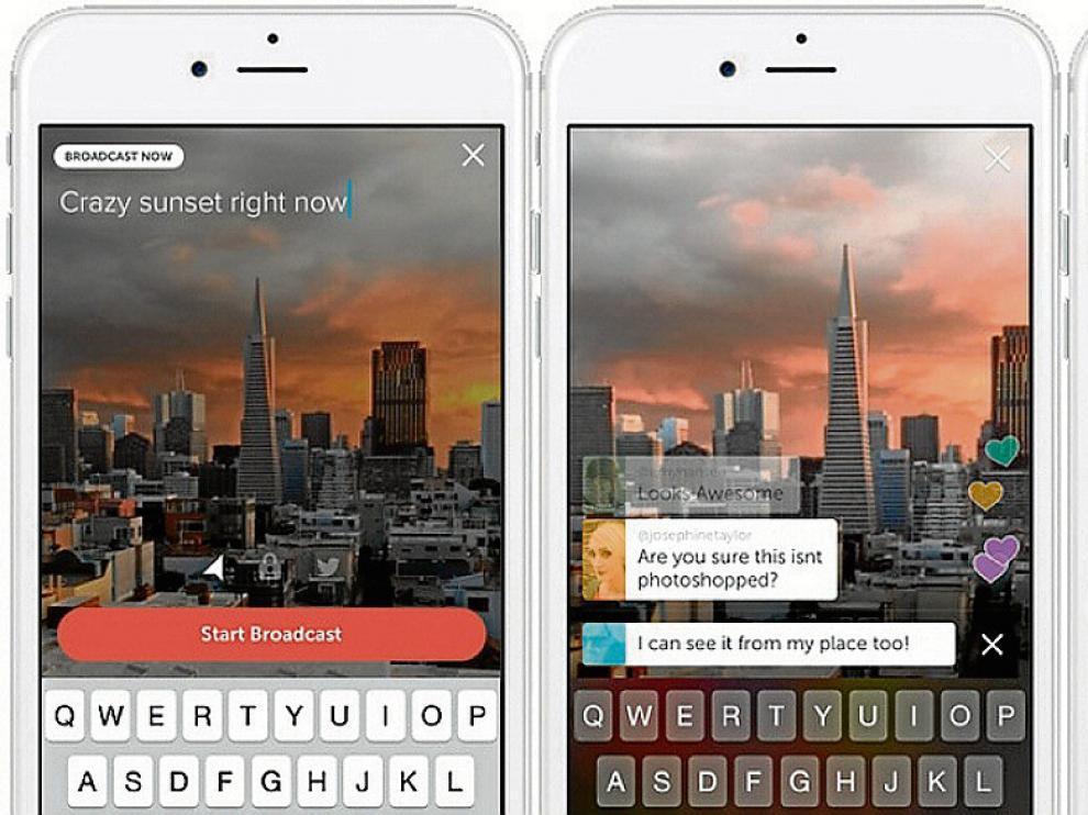 La aplicación Periscope permite a cualquier usuario emitir en tiempo real lo que sucede a su alrededor.