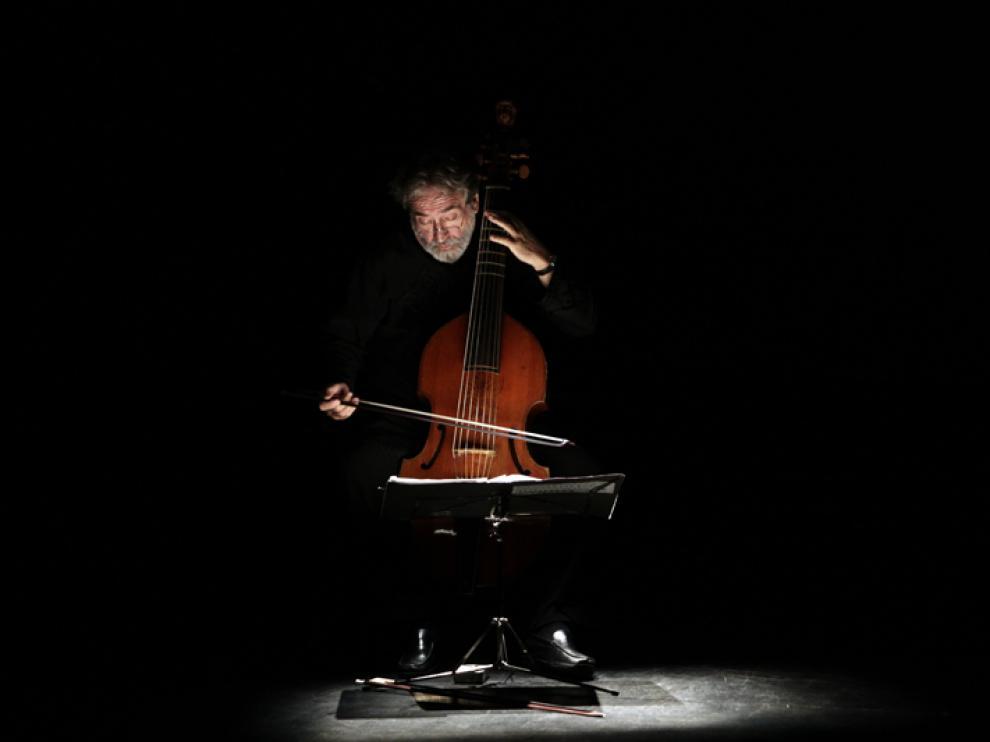 Jordi Savall actúa este fin de semana en la Sala Mozart del Auditorio.