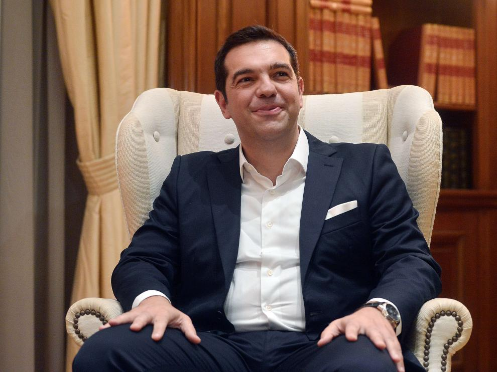 Alexis Tsipras en una imagen de archivo.