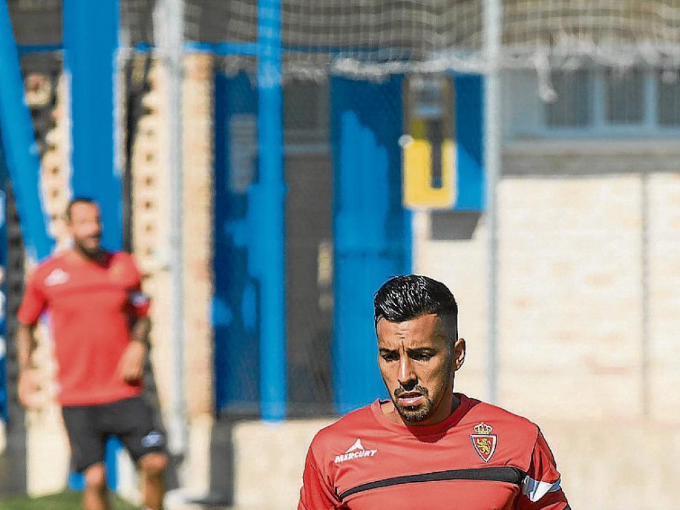 Jorge Díaz, en la Ciudad Deportiva.