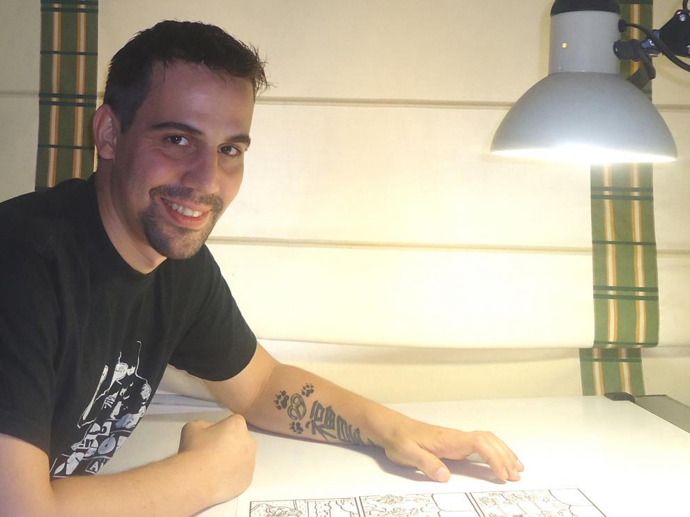 El dibujante Bernal