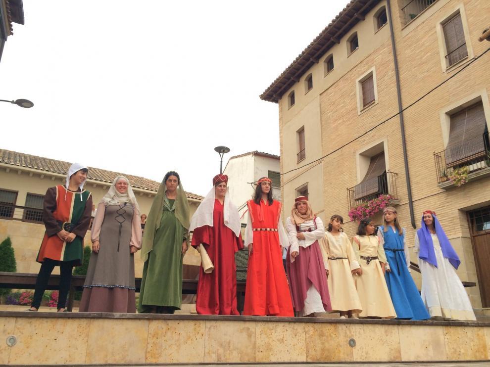 Edición de la recreación teatral de los esponsales celebrada en agosto en Barbastro.