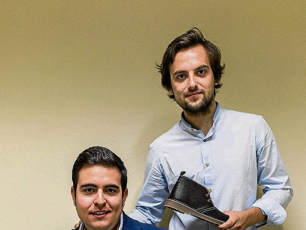 Carlos Reula –derecha– y Daniel Torrubia, de Ula Calzado.