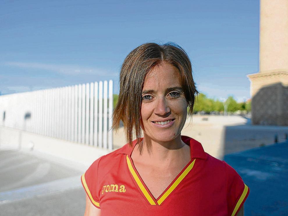 María José Poves, subcampeona de España y única aragonesa en el Mundial de Pekín.