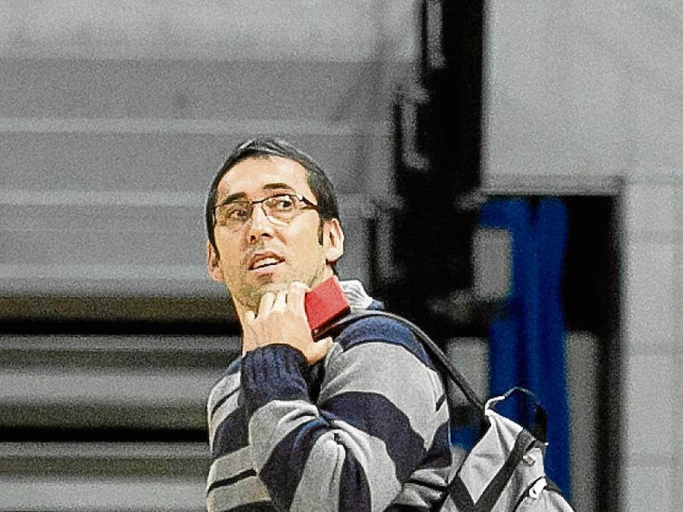 Willy Villar, director deportivo del CAI Zaragoza.